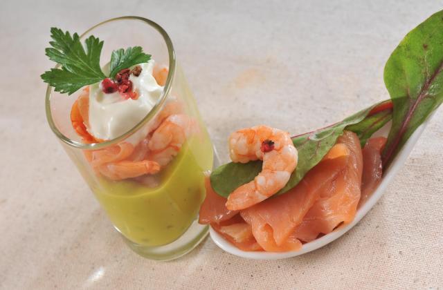 Verrines de saumon au Tartare® - Photo par 750g