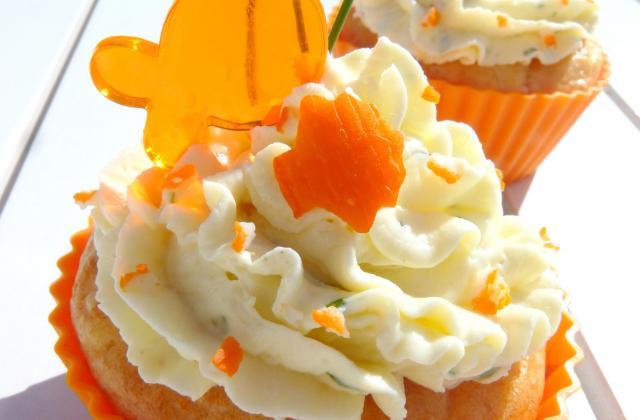 Cupcakes Surimi Coraya et fromage aux herbes - Photo par Coraya
