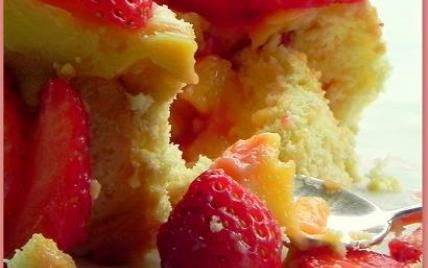 Charlotte à la crème de citron et au miel ... aux fruits de saison - Photo par mamie caillou