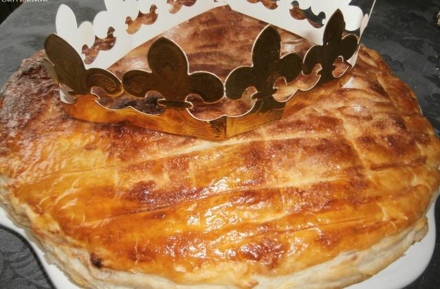 Galette des rois rapide au chocolat - crème d'amandes - Photo par MyCulinaryCurriculum