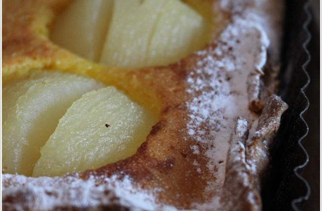 La tarte amandine aux poires - Photo par Anaïck