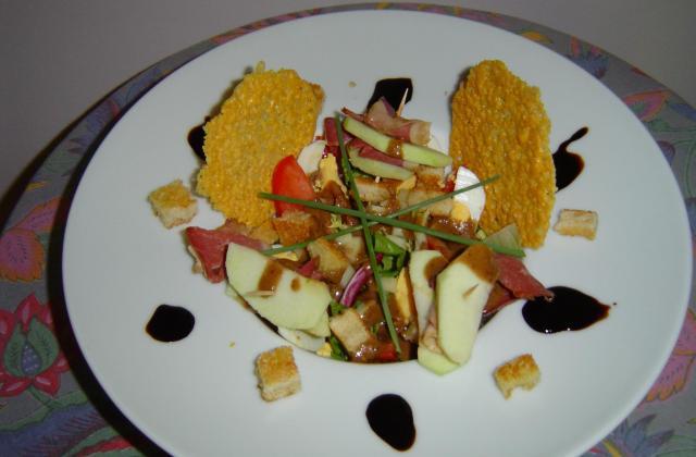 Salade campagnarde maison - Photo par malyma