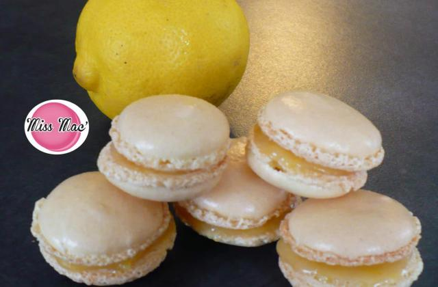 Macarons au citron express - Photo par heygaelle