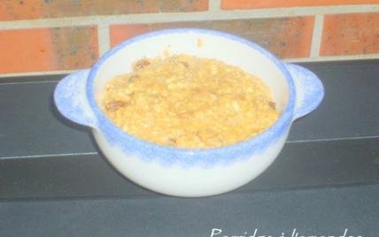 Porridge amandes - Photo par adelinaK