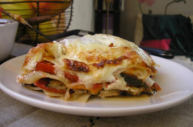 Lasagnes végétariennes faciles - Photo par fannyk