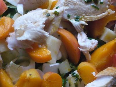Salade fraîche plein été - Photo par Celine-BlogCommeuneBulle