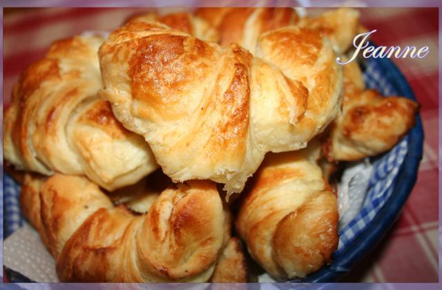 Croissants au beurre - Photo par Jeanne la malice