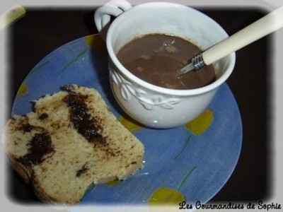 Chocolat chaud à la crème onctueuse - Photo par Sophie21