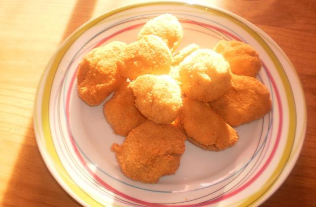Nugget de poulet-dinde - Photo par papa cuisine