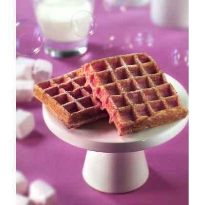 Gaufres aux biscuits roses - Photo par 750g