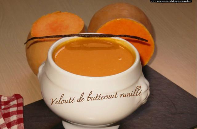 Velouté de butternut - Photo par Une passion et des gourmands