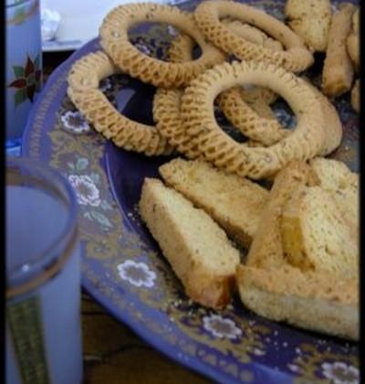 Kâak ou anneaux biscuités du Maghreb - Photo par mimilafee