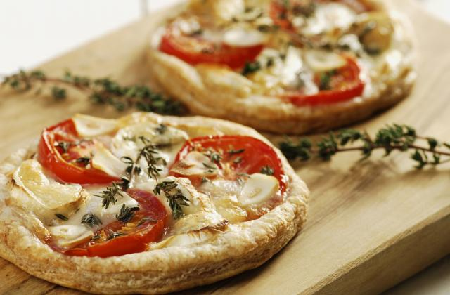 Tartelettes à la tomate et au chèvre - Photo par Chef Christophe