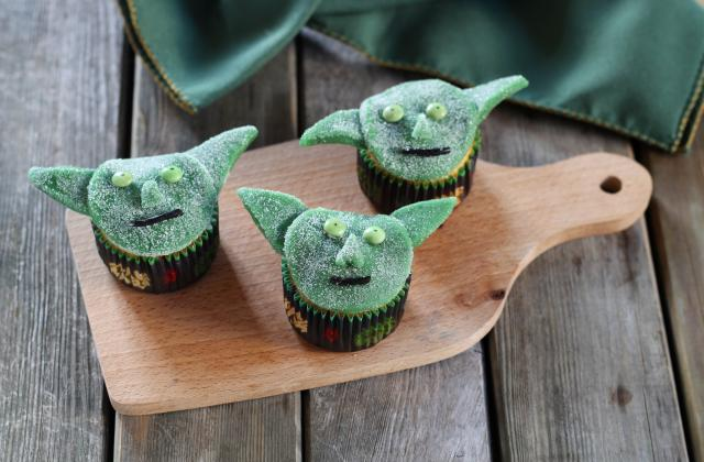 Cupcakes Maître Yoda Star Wars - Photo par Silvia Santucci