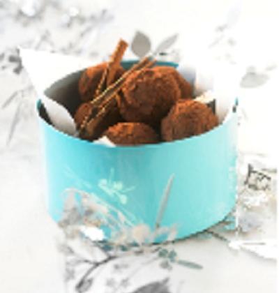 Truffes aux épices de Noël - Photo par Syndicat du chocolat