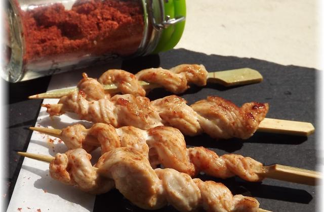 Brochettes façon kebab - Photo par chaudrV