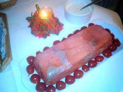Mousse de saumon aux asperges - Photo par babeth59