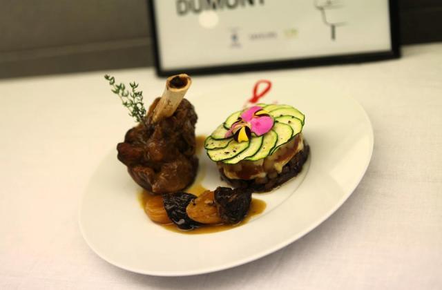 Souris d'agneau saveur d'orient, tatin de légumes - Photo par ludovigHg