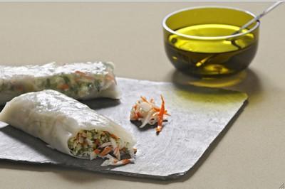 Rouleau de printemps express au surimi - Photo par nassime