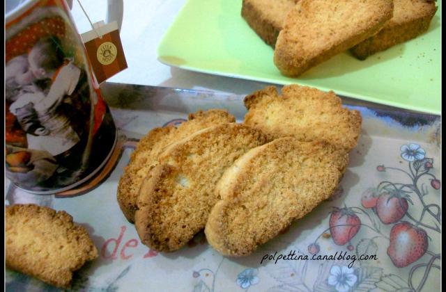 Biscuits typiques des Pouilles: Biscotti della salute pugliesi - Photo par L'Italie dans ma cuisine