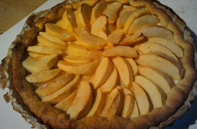 Tarte aux pommes facile à la fleur d'oranger - Photo par gaellesam