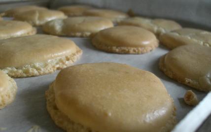 Macarons doubles à la vanille - Photo par 750g