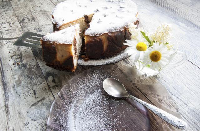 Cheesecake aux pépites de chocolat - Photo par 750g