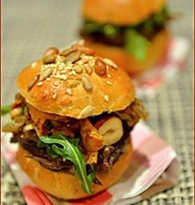 Mini-Burger forestier à la joue de bœuf - Photo par Chef Damien