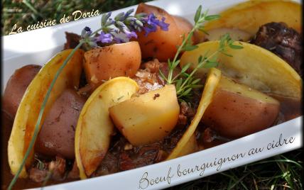 Bœuf bourguignon au cidre - Photo par doriaheimbu