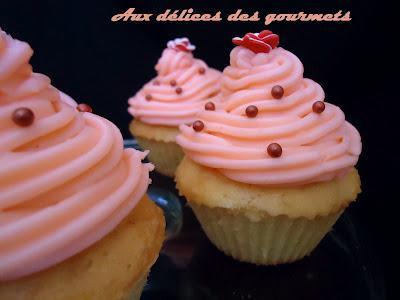 Cupcakes roses à la fraise - Photo par fimere2
