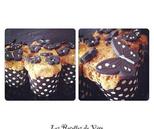 Fairy Cake Streusel Amande nougat - Photo par Bienvenue chez vero