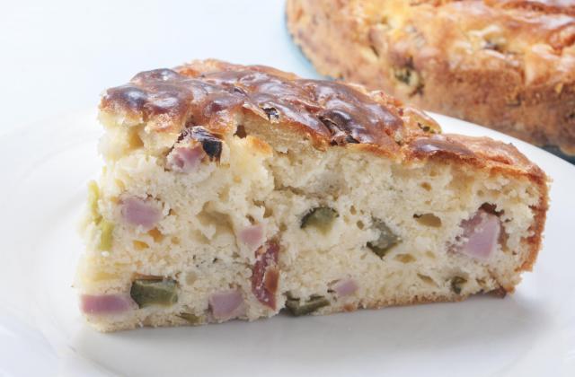 Cake olives, jambon et Saint Agur - Photo par 750g