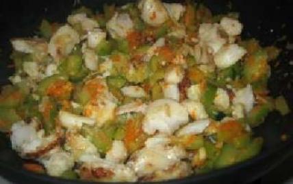 Filet de cabillaud et légumes au wok - Photo par atlantis013