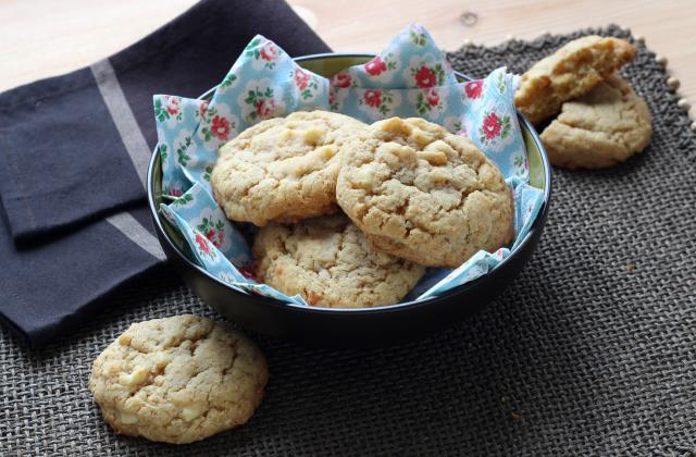 Cookies au chocolat blanc en 2 minutes au Cuisine Companion - Photo par Pascale Weeks