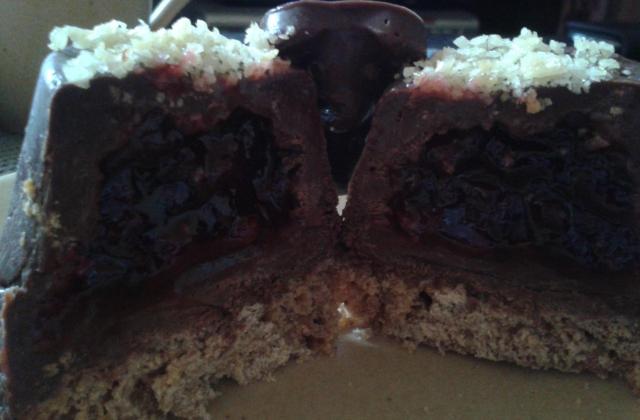 Trio pétillant, gâteau au chocolat - Photo par cecileWAx