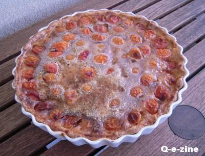 Tarte fondante aux abricots - Photo par margooH