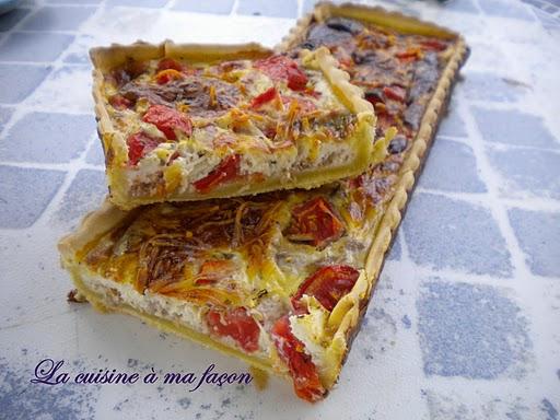 Quiche tomates thon et herbes de Provence - Photo par nadège18