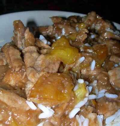 Porc sauce chinoise - Photo par leplai