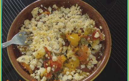 Crumble de légumes au beurre de cacahuètes - Photo par lauriaGY