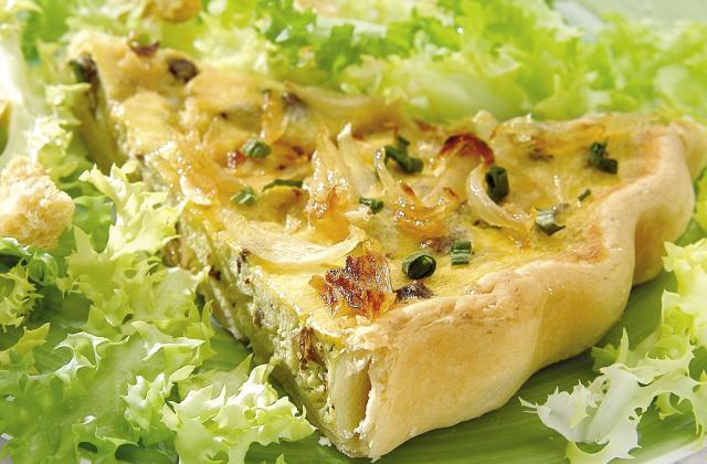 Tarte aux légumes et au tofu - Photo par nboscp