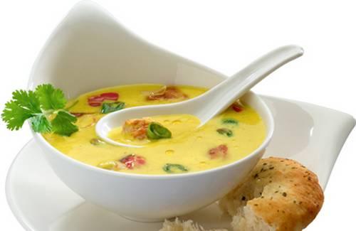 Soupe asiatique au curry - Photo par Philadelphia