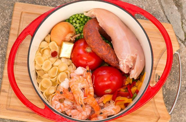 One pot pasta comme une paëlla - Photo par jackieyZ