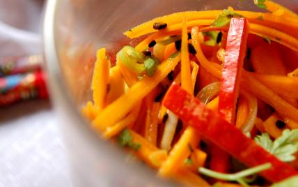 Salade de potimarron au cerfeuil - Photo par hector8