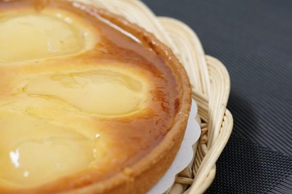 Tarte amandine aux poires - Photo par Chef Damien