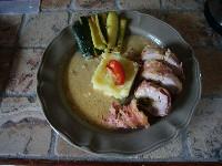 Filet mignon de porc aux tomates confites - Photo par nanoudK