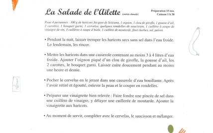 La salade de l'Ailette - Photo par École de la gare de Soissons