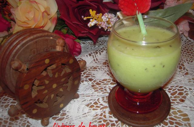 Smoothie de kiwi - Photo par hayat de universdehayat