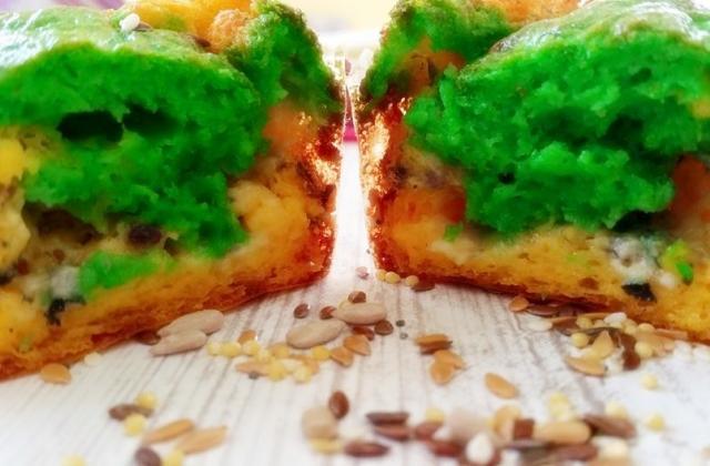 Cake au roquefort Papillon - Photo par mthala