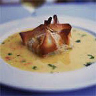 Petits paniers de poissons sauce safranée - Photo par nadege8X