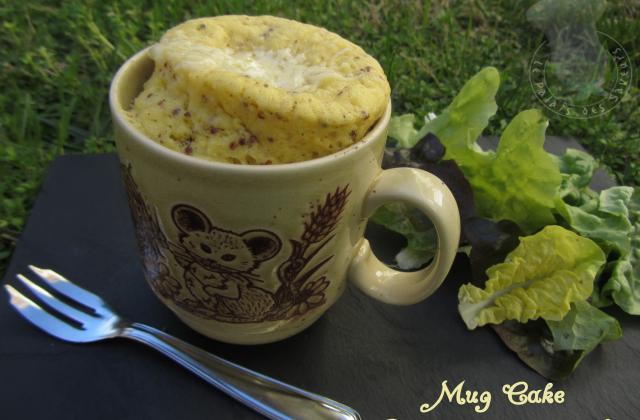 Mug cake moutarde, gruyère - Photo par vgonza